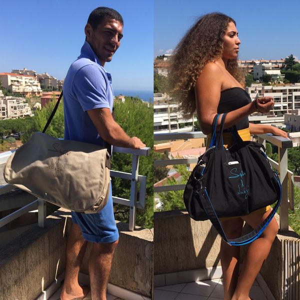 Smoliv & Nunzi - Anna - Blue & Black